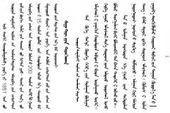 西雅图宣言(蒙古文,中文,英文版)