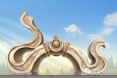 库伦银沙湾景区三个大门的寓意你知道吗?