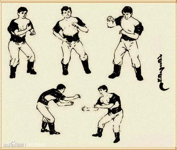 最全搏克战袍介绍及基本技法(蒙古文) 第3张