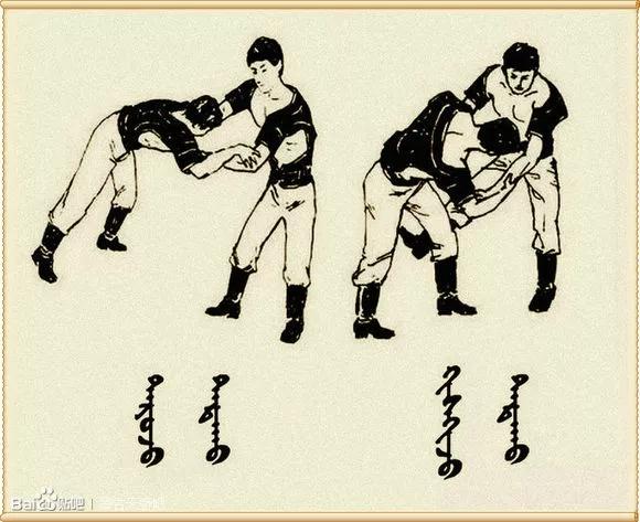 最全搏克战袍介绍及基本技法(蒙古文) 第6张