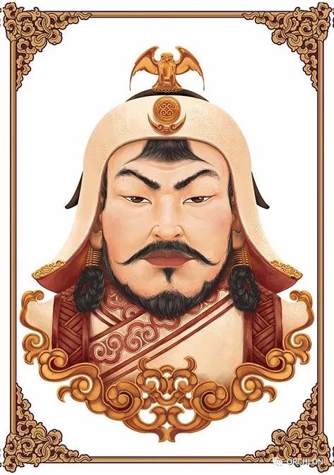 蒙古可汗画像 第2张