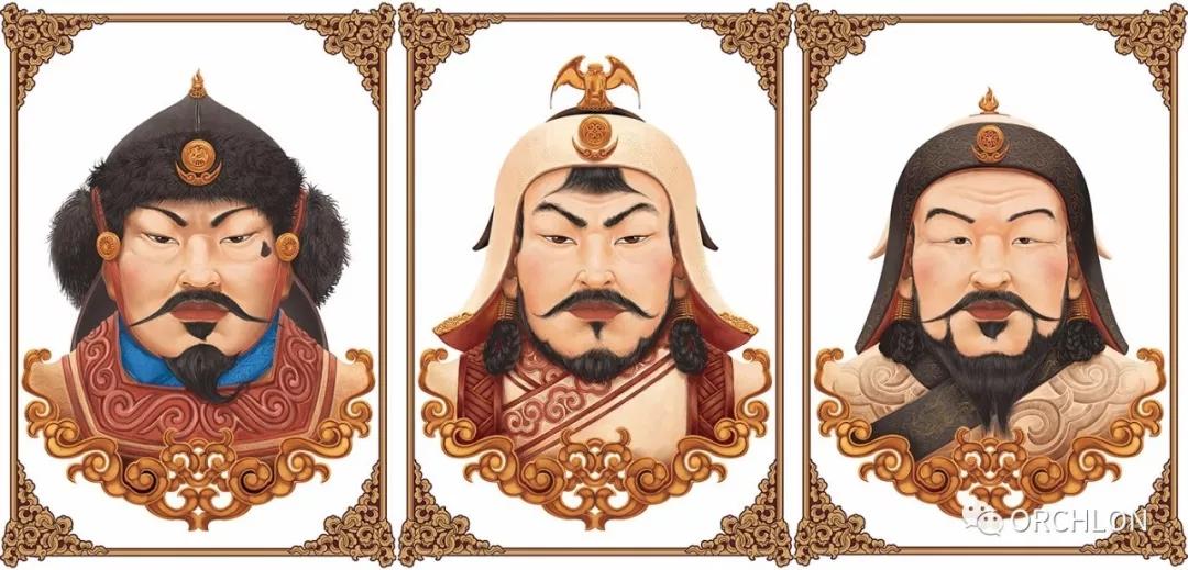 蒙古可汗画像 第1张