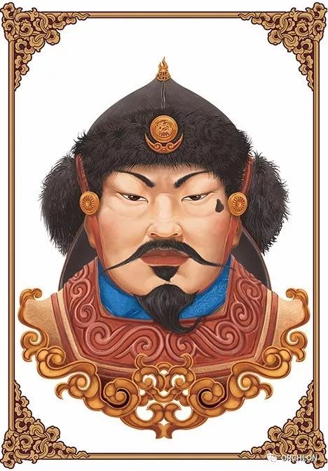 蒙古可汗画像 第4张