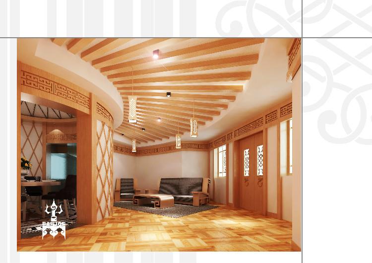 蒙古风格居住空间设计 --百丽格设计