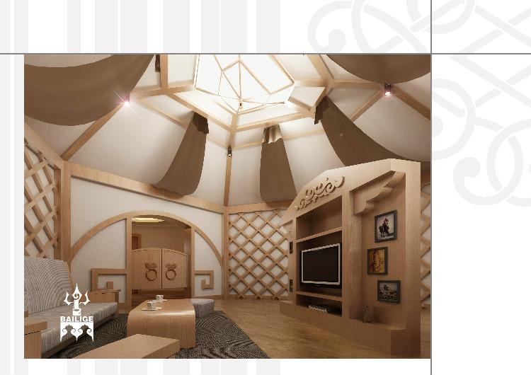 蒙古风格居住空间设计 --百丽格设计 第2张