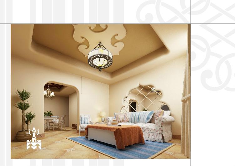 蒙古风格居住空间设计 --百丽格设计 第3张