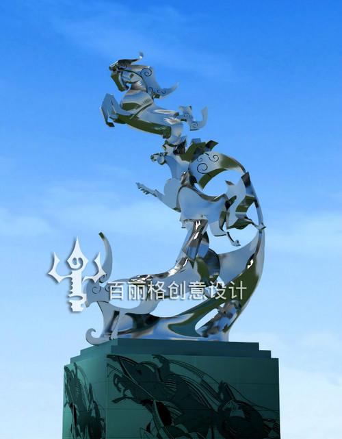 蒙古设计——雕塑