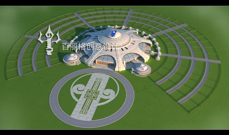 蒙古建筑设计  --百丽格设计 第4张