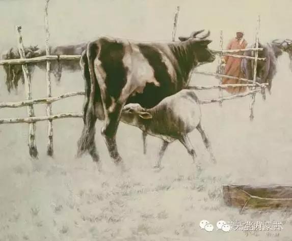 内蒙古油画家——敖恩作品欣赏 第5张