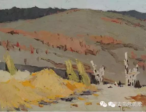 内蒙古油画家——敖恩作品欣赏 第7张