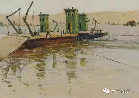 内蒙古油画家——敖恩作品欣赏 第8张