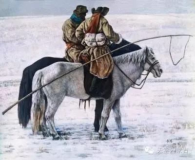 内蒙古油画家——敖恩作品欣赏 第6张