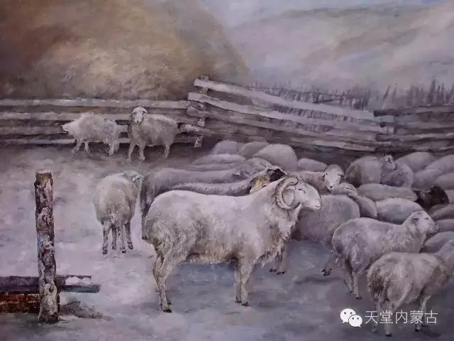 内蒙古呼伦贝尔油画家孙勇作品集 第4张