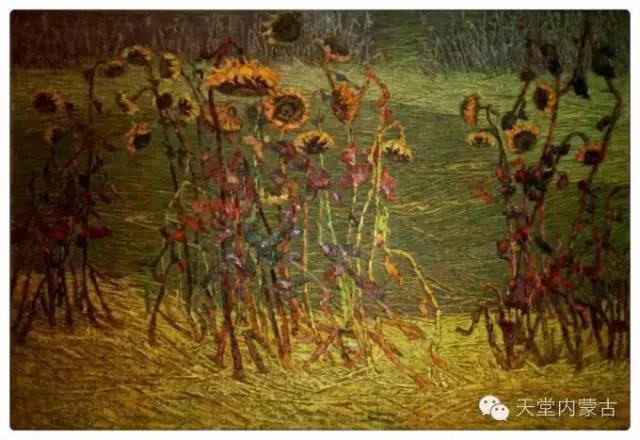 内蒙古画家——温海油画创作及写生作品! 第8张