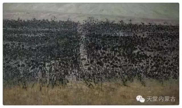 内蒙古画家——温海油画创作及写生作品! 第6张