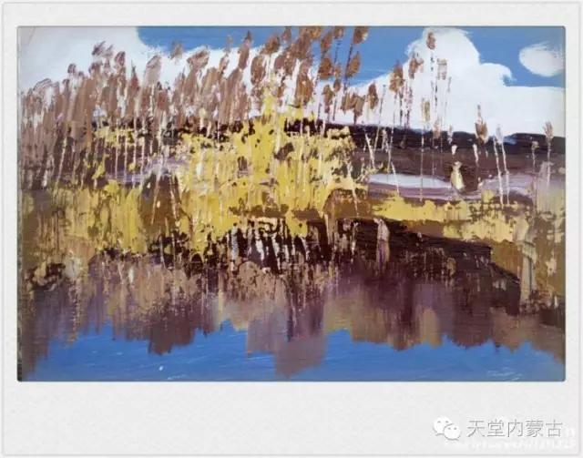 内蒙古画家——温海油画创作及写生作品! 第21张