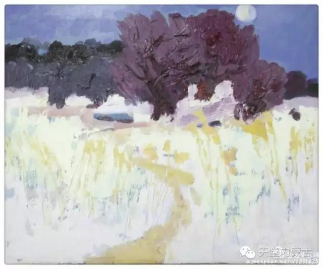 内蒙古画家——温海油画创作及写生作品! 第20张