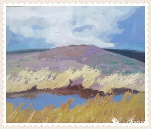 内蒙古画家——温海油画创作及写生作品!