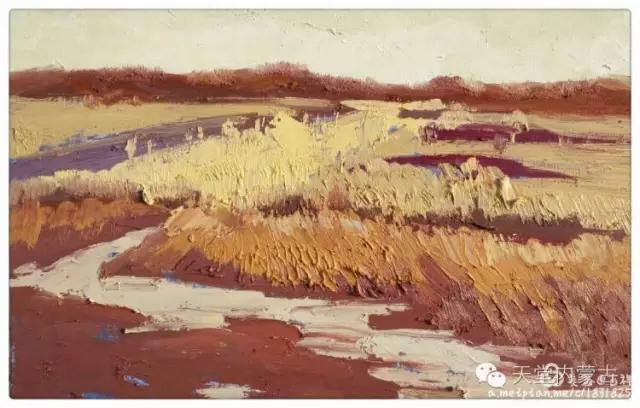 内蒙古画家——温海油画创作及写生作品! 第30张