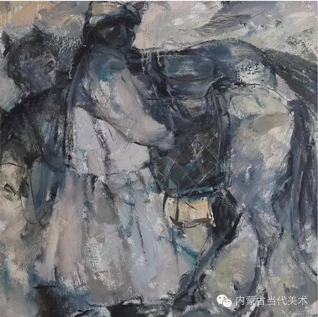 内蒙古当代美术家|乌吉斯古楞与她的布里亚特系列油画创作 第8张
