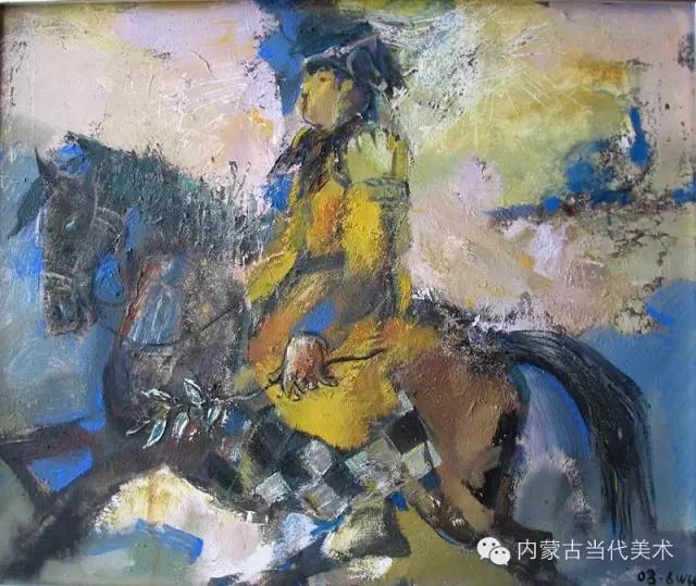 内蒙古当代美术家|乌吉斯古楞与她的布里亚特系列油画创作 第11张