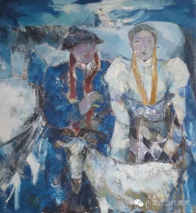 内蒙古当代美术家|乌吉斯古楞与她的布里亚特系列油画创作 第12张