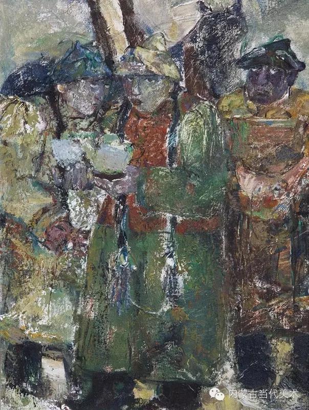 内蒙古当代美术家|乌吉斯古楞与她的布里亚特系列油画创作 第15张