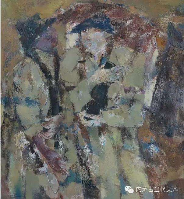 内蒙古当代美术家|乌吉斯古楞与她的布里亚特系列油画创作 第13张