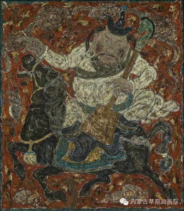 内蒙古草原油画院画家--哈斯乌拉 第12张