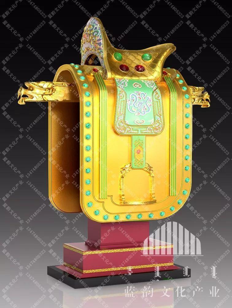 蒙古风格建筑设计—蓝韵文化产业 第4张