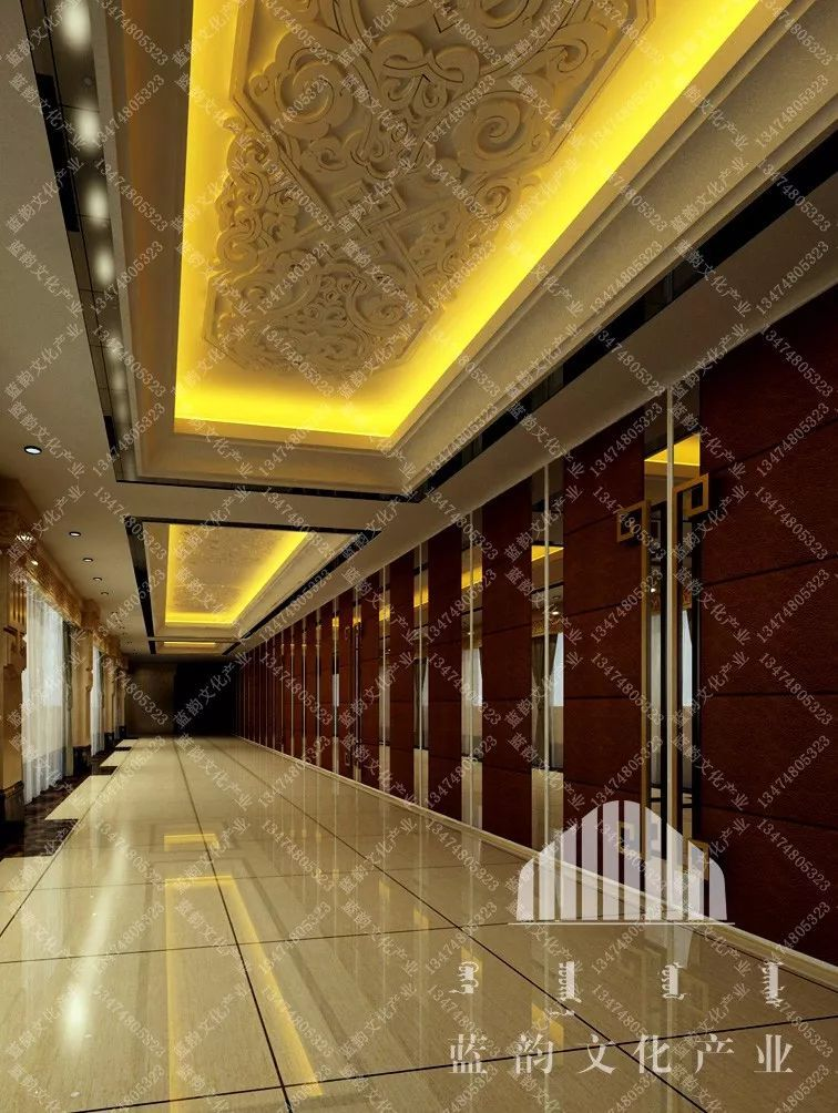 蒙古风格建筑设计—蓝韵文化产业 第5张