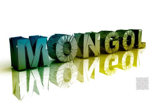 练习 蒙古元素设计 第2张