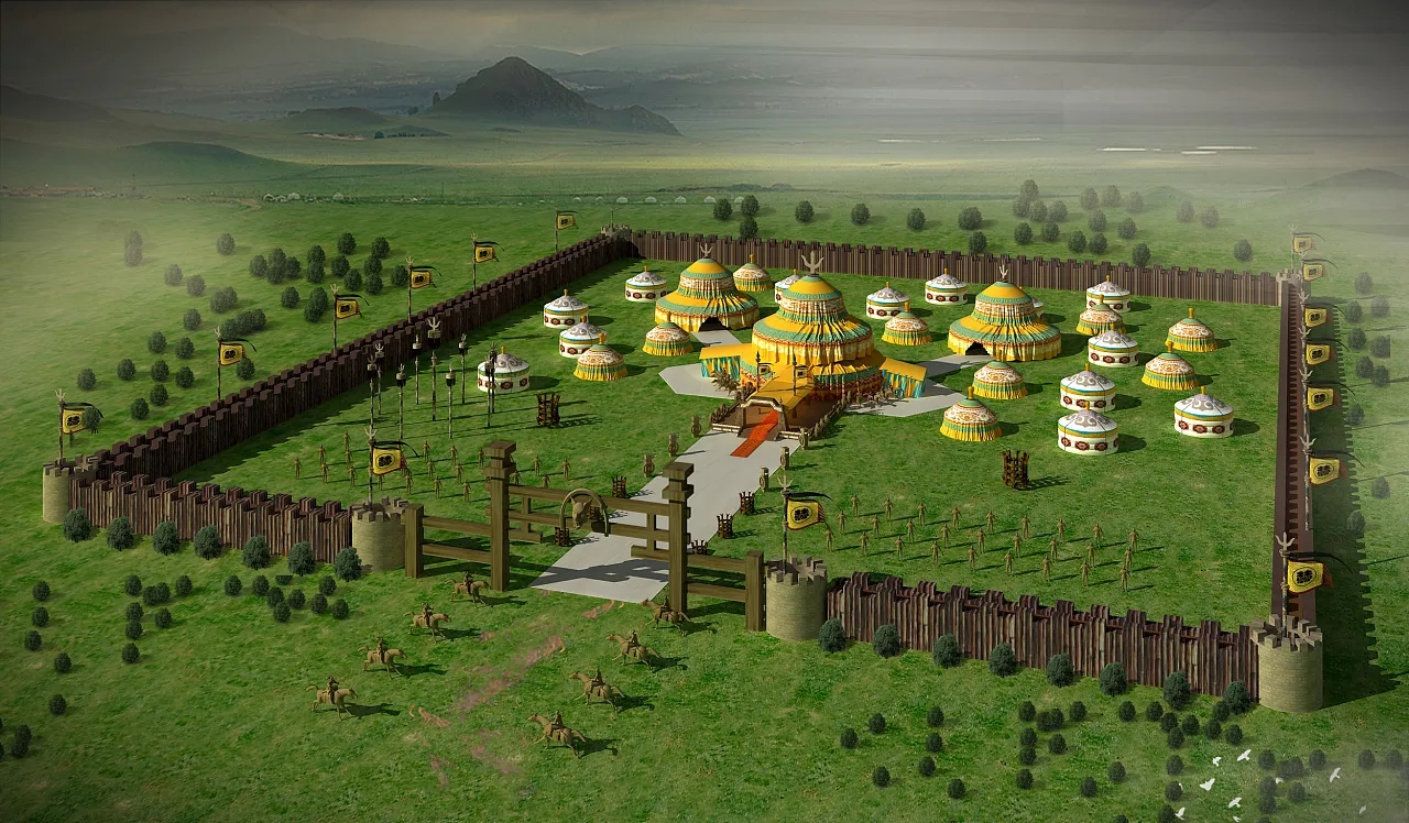 蒙古大营设计 第2张