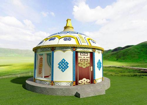 蒙古建筑设计的装饰风格