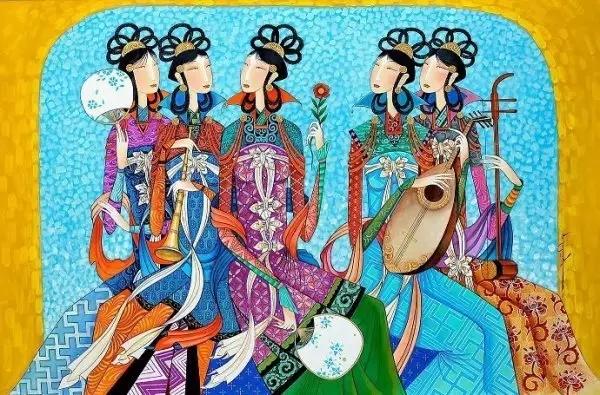 蒙古画家-Zayasaikhan Sambuu 第2张
