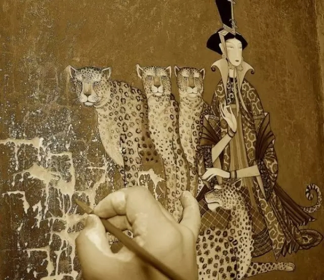 蒙古画家-Zayasaikhan Sambuu 第1张