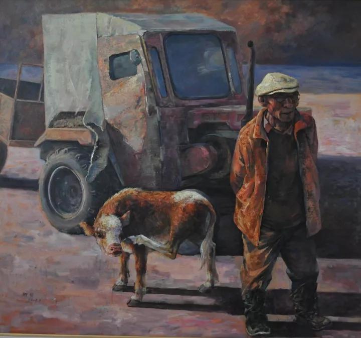 蒙古族画家那琴 第3张