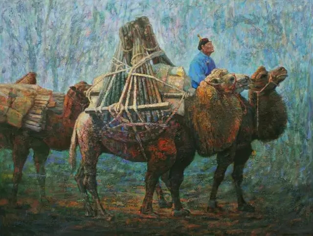蒙古族画家那琴 第8张