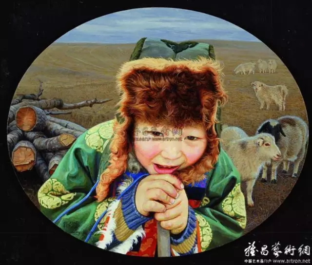 湖南画家笔下的蒙古生活,很生动,勾起一代人的回忆 第1张