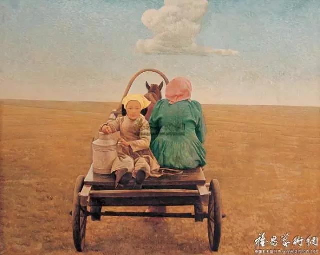 湖南画家笔下的蒙古生活,很生动,勾起一代人的回忆 第3张