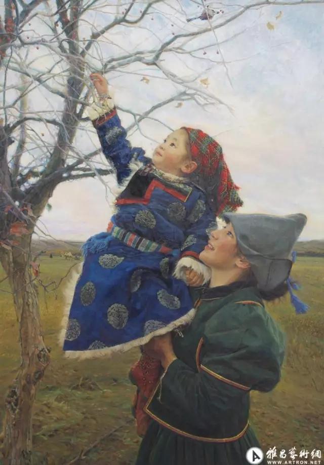湖南画家笔下的蒙古生活,很生动,勾起一代人的回忆 第11张