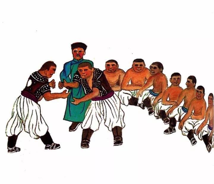 一位牧民画家 完美的诠释出蒙古族文化礼仪 来感受一下 第2张