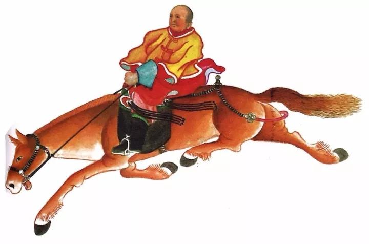 一位牧民画家 完美的诠释出蒙古族文化礼仪 来感受一下 第8张