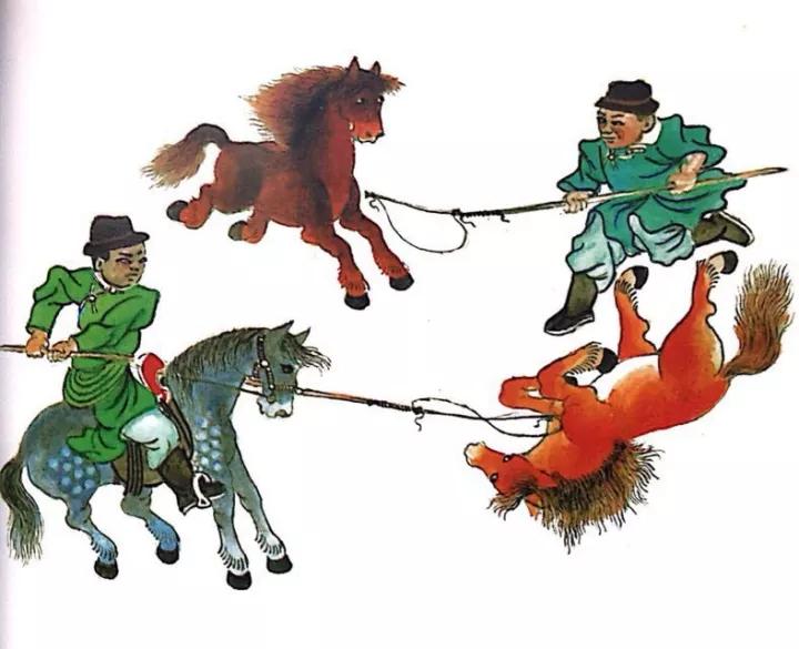 一位牧民画家 完美的诠释出蒙古族文化礼仪 来感受一下 第12张