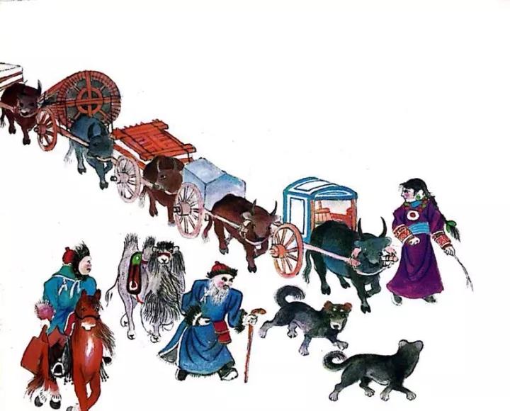 一位牧民画家 完美的诠释出蒙古族文化礼仪 来感受一下 第16张