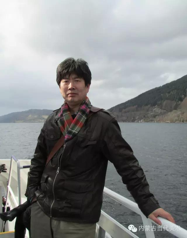 蒙古族画家——那顺孟和境外水彩写生作品 第7张