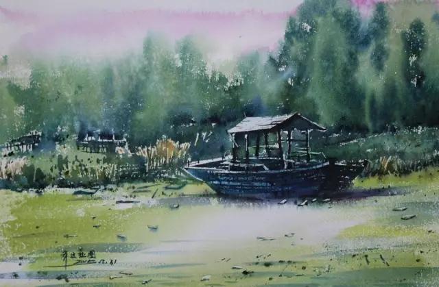 蒙古族水彩画家齐达拉图——绘画是一种信仰 第3张