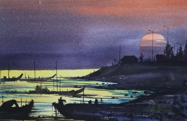 蒙古族水彩画家齐达拉图——绘画是一种信仰 第2张