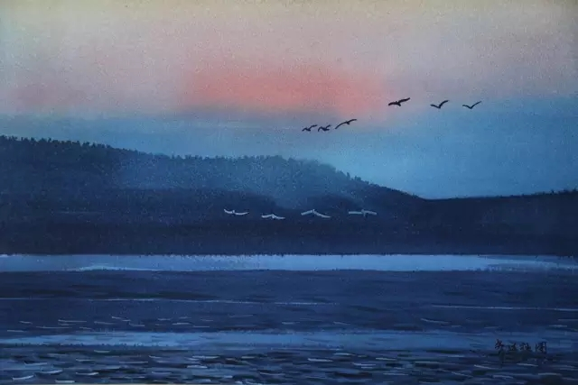 蒙古族水彩画家齐达拉图——绘画是一种信仰 第8张