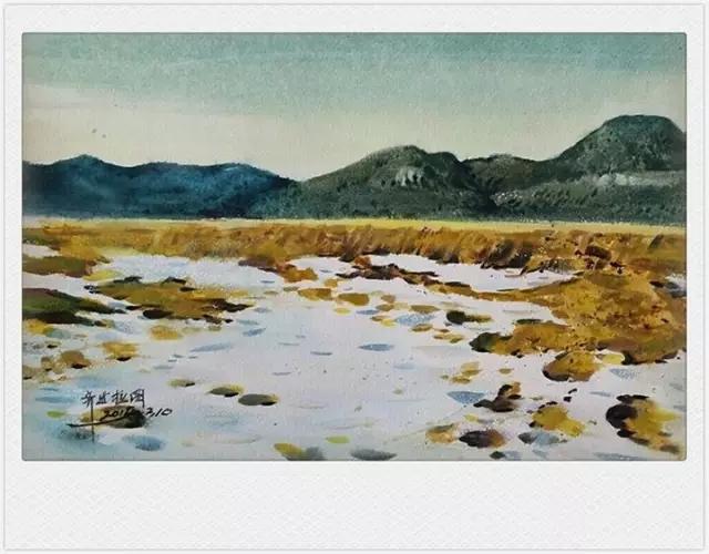 蒙古族水彩画家齐达拉图——绘画是一种信仰 第21张